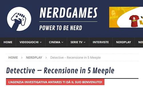 Nerd games per sito